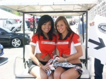 Champ Car PR Girls