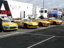 Mazda race car team