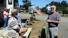 Dave Flatter with Gene Nemish