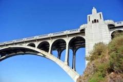 Art Deco bridge tower