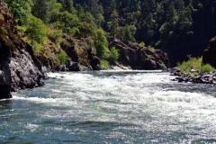 Rogue River rapids beyond Agness