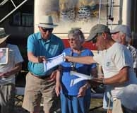 Steve Presents Award to Stan Shackell