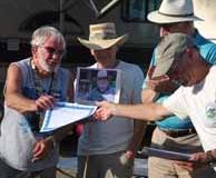 Steve Presents Award to Bob Beers