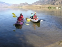 Kayaking-Osoyoos-Lake