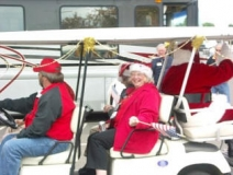Donzella-with-Santa-Albany-parade