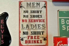 A guy's kind of sign!