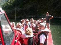 Our skipper with Trekkies